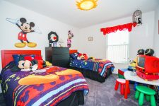 Kiddies Bedroom, Disney themed